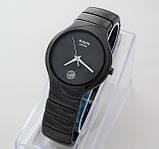 Стильные керамические часы Rado Jubile Black Радо ЭЛИТ унисекс, фото 2