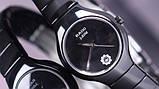 Стильные керамические часы Rado Jubile Black Радо ЭЛИТ унисекс, фото 4