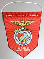Вымпел  футбольный с изображением герба FC Benfica