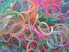 Набор светящихся в темноте резиночек для плетения браслетов (Rainbow Loom)