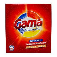 Порошок для стирки универсальный Gama (25 циклов), 1,625 кг, фото 1