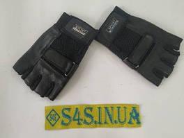 Перчатки спортивные многоцелевые BC-122 (кожа) M