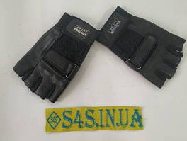 Перчатки спортивные многоцелевые BC-122 (кожа) L