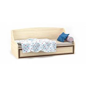 Кровать тапчан односпальная в детскую комнату из ДСП/МДФ Дисней Мебель Сервис без ламелей
