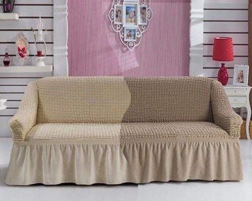 Универсальный чехол на диван Разные цвета