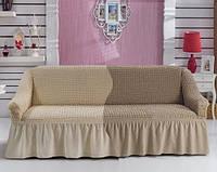 Универсальный чехол на диван Разные цвета, фото 1