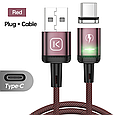 Магнітний кабель для зарядки і передачі даних Kuulaa, фото 8