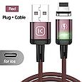 Магнітний кабель для зарядки і передачі даних Kuulaa, фото 4