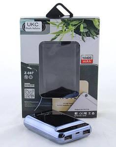 Мобільна Зарядка POWER BANK Z087 10400mah (реальна ємність 6000)