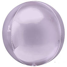 """Фольгированный шар сфера сиреневый 22 """"(55см) Китай"""