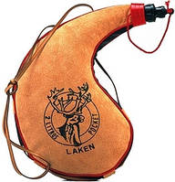 Фляга Laken Leather canteen 2 L. kidney shape