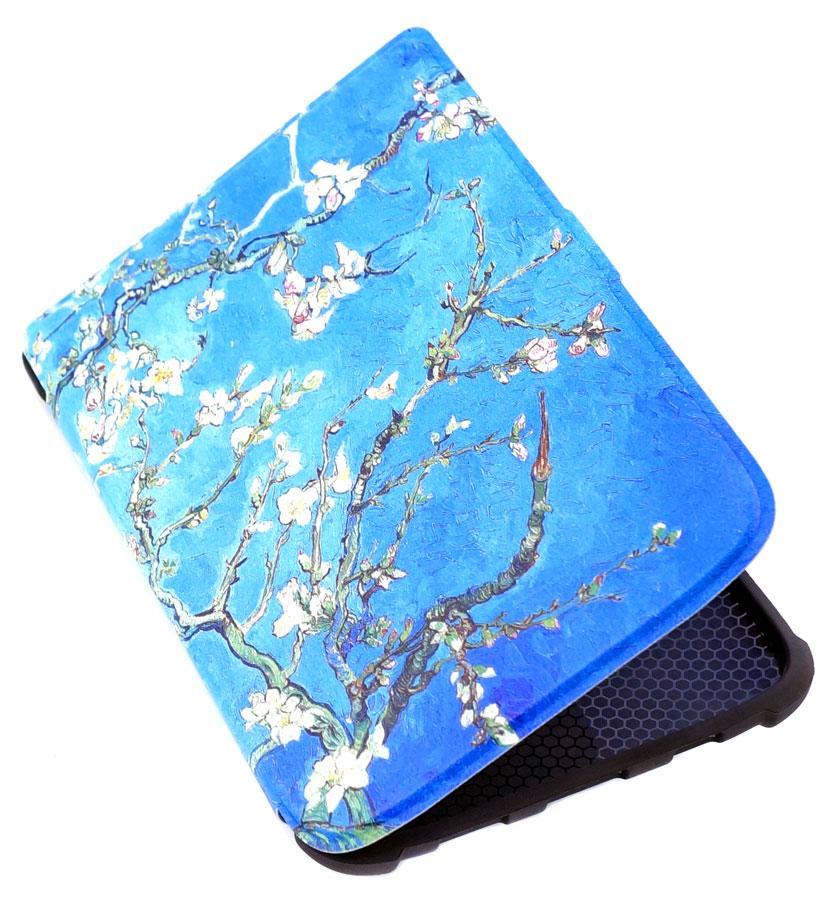 TPU чехол pocketbook touch lux 4 - Almond Blossoms