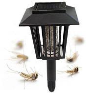 Уличный фонарь уничтожитель комаров на солнечной батарее «Садовый»