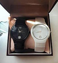 Стильні керамічні годинник Rado Jubile White Радо ЕЛІТ унісекс