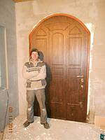 Двери входные металлические арочные