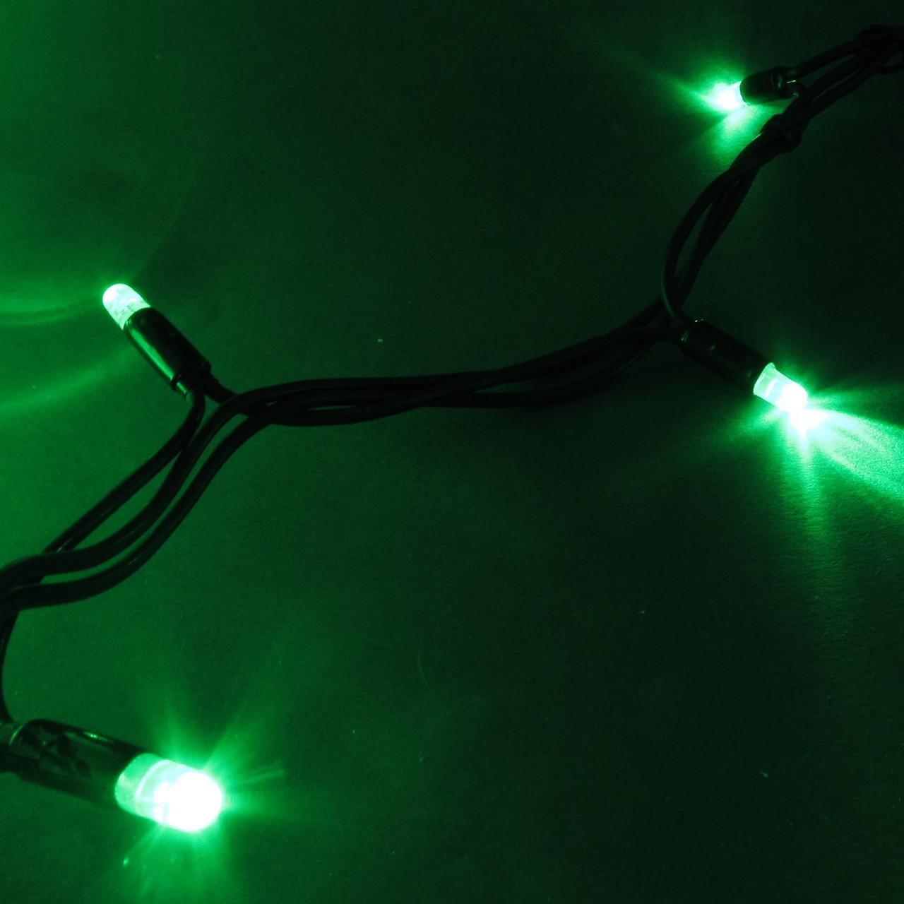 Светодиодная гирлянда Нить 10м, 100 LED, Каучук