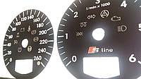 Шкалы приборов Audi A3, фото 1