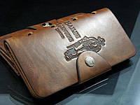 Кожаный клатч Bailini Long для мужчины