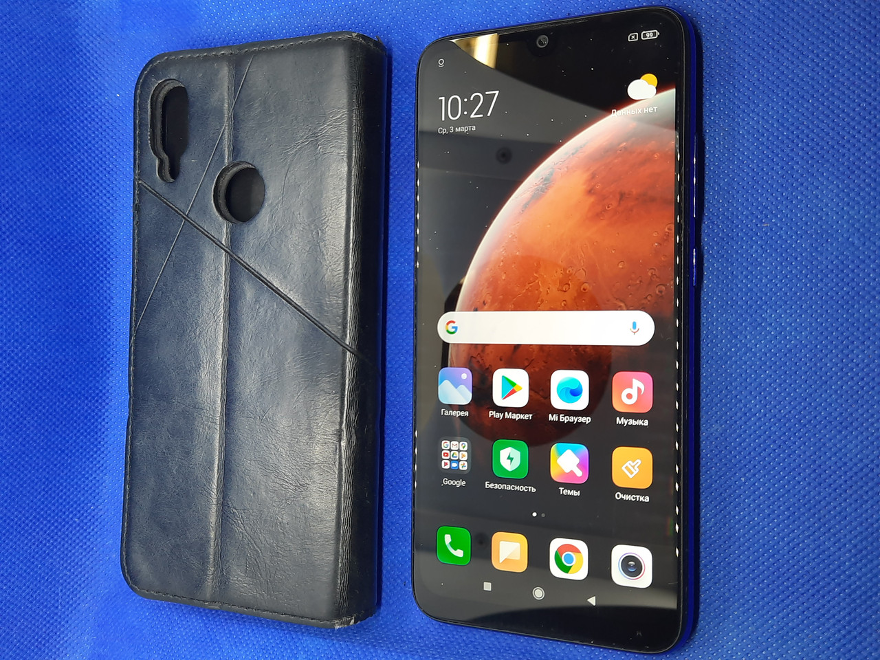 Xiaomi redmi note 7 3/32GB Blue #1331ВР