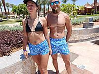 """Шорти літні пляжні ПАРНІ. """"Хвилі"""". Супер якість., фото 1"""