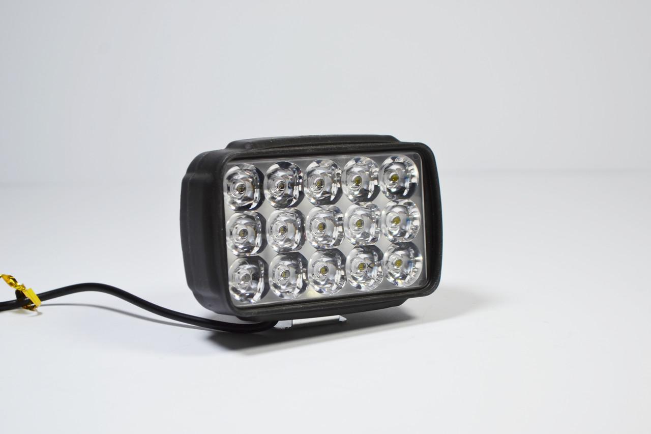 Світлодіодна LED фара 45вт (світлодіоди 3w х15шт) 15диод