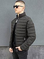 Мужская куртка стеганая хаки RM