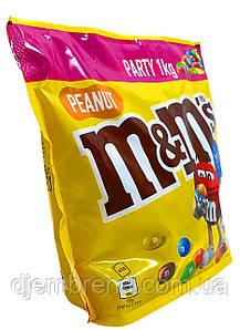 Килограммовое Драже M&M's Party Peanut, 1кг (эм энд эмс)