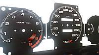 Шкалы приборов Honda Civic 6, фото 1