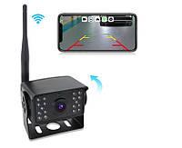 Бездротова камера заднього виду Wi-Fi 24В для вантажівок