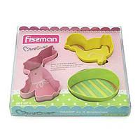 Набор формочек для печенья 3 пр. Fissman 8569