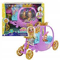 Игровой набор Энчантималс Королевская карета с Пеолой Пони Enchantimals Royal Mattel (GYJ16)