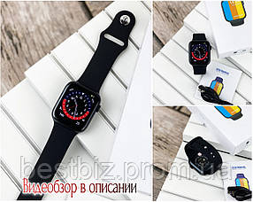 Смарт годинники наручні Modfit NK03 All Black чорні / смарт годинник модфит