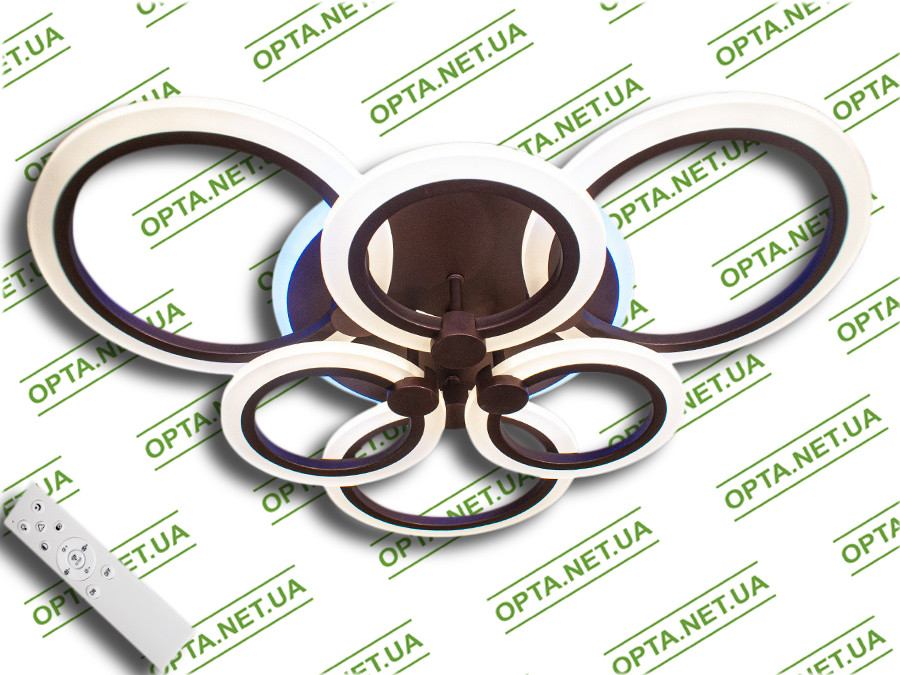 Светодиодная люстра  MX2374/3+3GR LED 3color dimmer (Серый) 105W