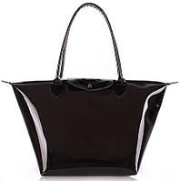 Прозрачная сумка POOLPARTY Kelly pool-80-kelly черная