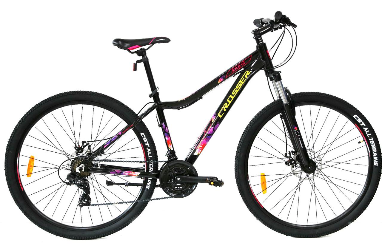 Женский велосипед алюминиевый ANGEL 29 дюймов 16,5 рама Кроссер