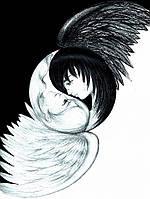 """Набор для рисования картин по номерам """"Символ любви - Инь и Янь"""""""