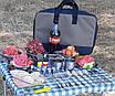 Набор посуды туристический нержавейка 35 предметов, фото 2