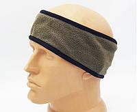 Флісова пов'язка-утеплювач на голову - армії Австрії, б/в, фото 1