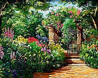 "Набор для рисования картин по номерам (раскраска) ""Райский сад"""
