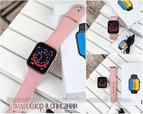 Смарт часы наручные   Modfit NK03 All Pink розовые / смарт часы модфит
