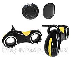 Беговел детский TRON GS-0020, Black/Yellow, Bluetooth, LED-подсветка
