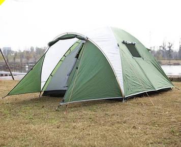 Палатка, шести, 6, местная, двухслойная, туристическая, просторная, комфортная, намет, с тамбуром