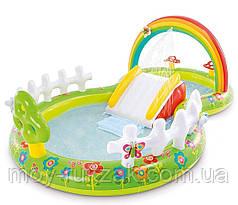 """Детский надувной игровой центр """"Мой сад"""" Intex 57154 NP, 290*180*104 см"""