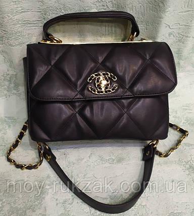 Женская сумка брендовая Chanel, 24*18 см, 930507, фото 2