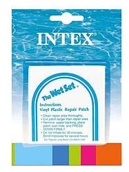 Ремонтный комплект Intex 59631 для надувных для изделий, самоклеющиеся заплатки, 6 шт