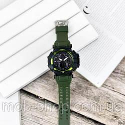 Наручний годинник Casio G-Shock GW-A1100 Black-Militari Wristband