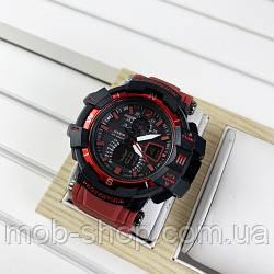 Наручний годинник Casio G-Shock GW-A1100 Black-Red Wristband