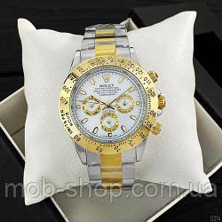 Наручний годинник Rolex Daytona Automatic Silver-Gold-White