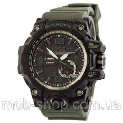 Наручний годинник Casio G-Shock GG-1000 Black-Militari Wristband