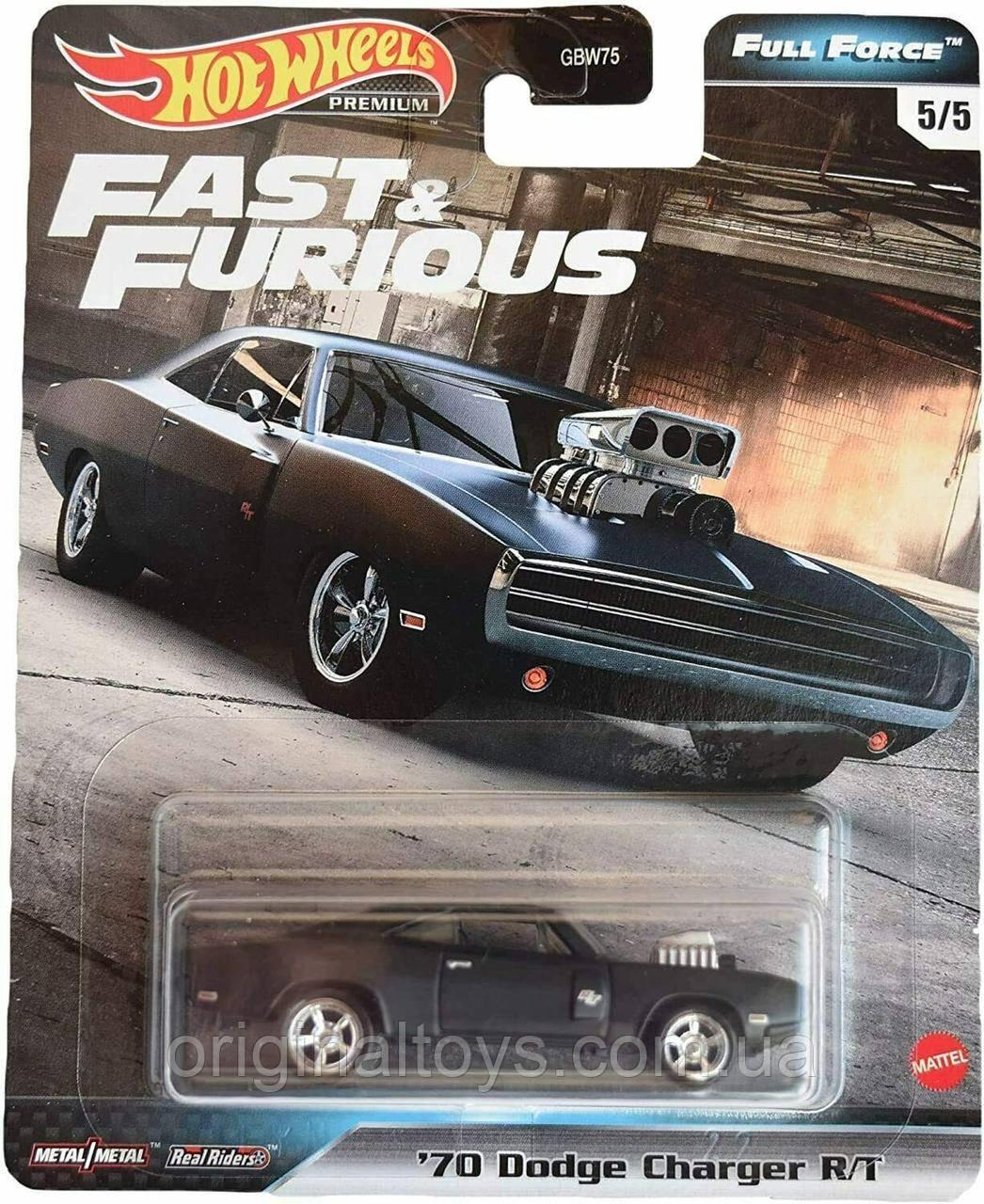 Коллекционная  модель Hot Wheels Dodge Charger
